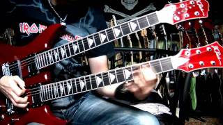 Into the Arena guitar cover - Michael Schenker Group (HD)