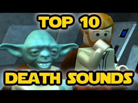 Top 10 Lego Star Wars Death Sounds