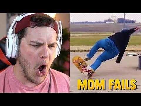 Funniest Mom Fails - Reaction