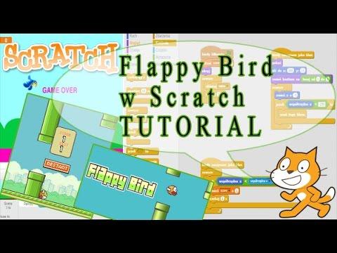 SCRATCH - tworzymy grę - FLAPPY BIRD