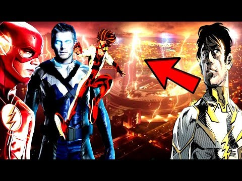 GodSpeed Returns? The Flash Season 4Theory! Cobalt Blue & Bart Allen TEASE! - The Flash Season 5