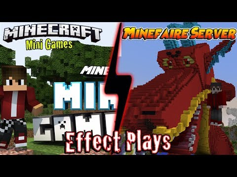 Minefaire server   Mine car subway system   And Mini games