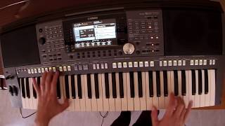 Alan Walker & Alex Skrindo - Sky - piano keyboard synth cover by LIVE DJ FLO