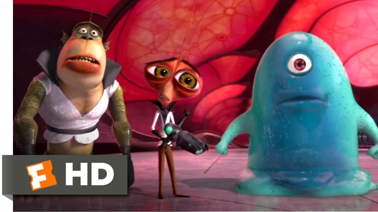 Monsters Vs Aliens 2009 Destroy All Monsters Scene 8 10 Movieclips Youtube
