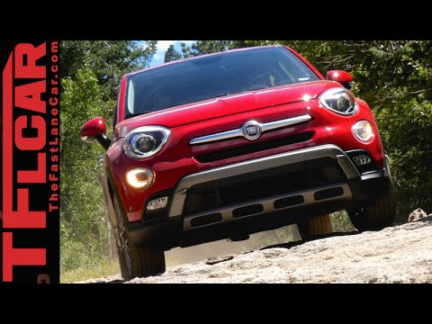 2016 Fiat 500X FWD takes on the Gold Mine Hill Off-Road Review: Buy It!