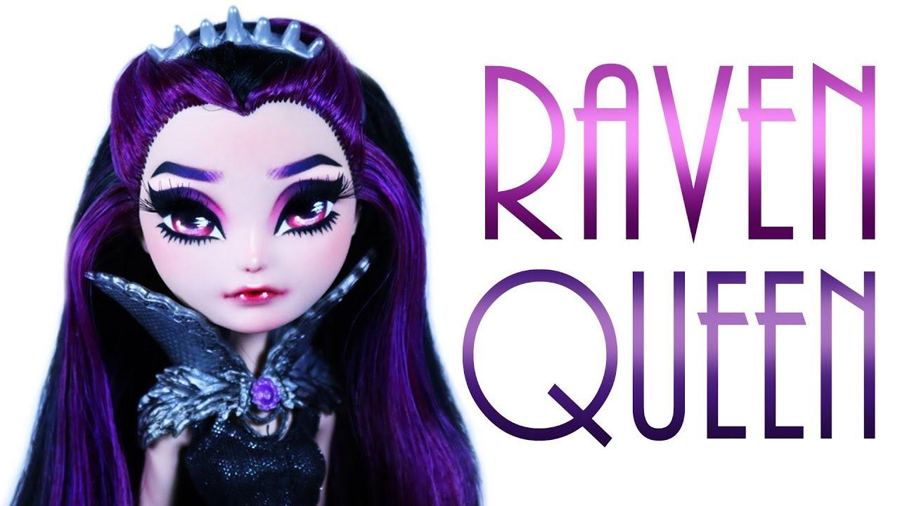 Raven Queen Doll Repaint  [EVER AFTER HIGH]