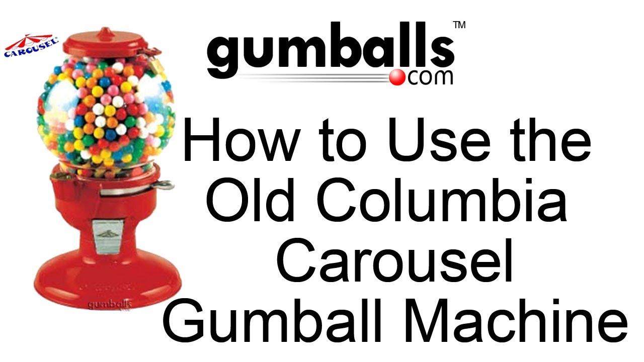 columbia gumball machine