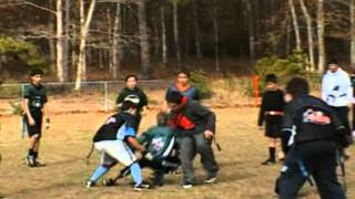 "South Jersey NFL Flag Football Highlights Thanksgiving Day ""Turkey Bowl"" Games 11-22-12"
