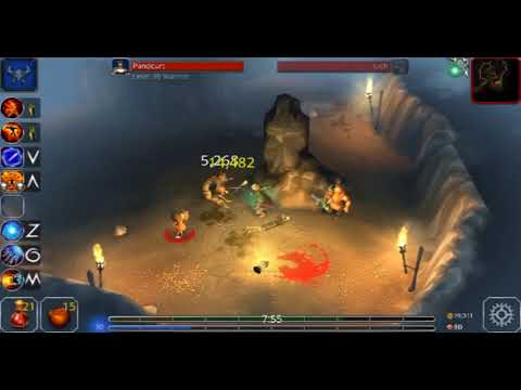Eternium v1 2 58 Bounty Hunter fight The Broken Dragon trial 73