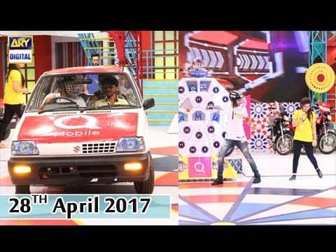 Jeeto Pakistan  - 28th April 2017 - ARY Digital Show