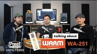 PPA Unfiltered: 9 Warm Audio WA-251 & Lewitt LCT-140 Air LCT-040 Match