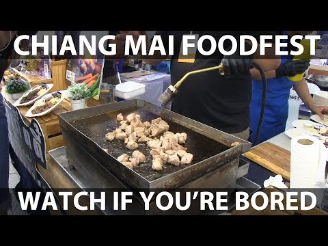 Thailand Special: Foodfest in Chiang Mai