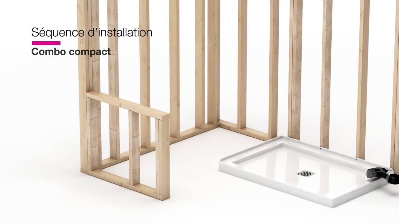 Maax Modulr Installation D Un Combo Douche Et Baignoire Compact