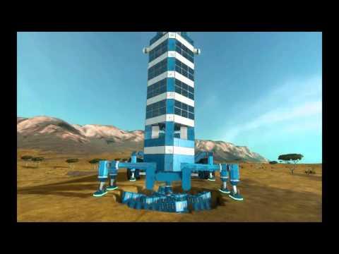Space Engineers Буровая Установка