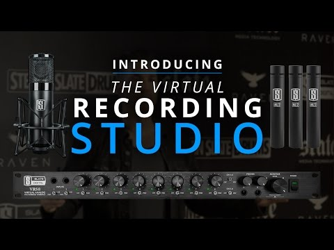 Slate Digital Announces The Virtual Recording Studio