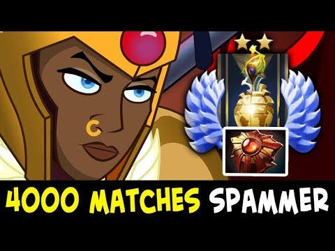 4000 matches Divine Rank Legion Commander spammer — Solar Crest every game