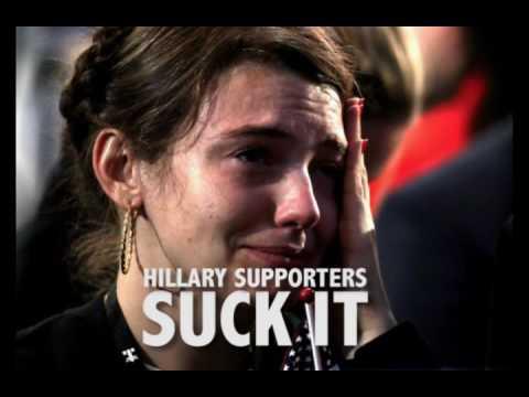 hqdefault donald trump makes hillary clinton supporters cry trump responds,Hillary Supporters Crying Meme