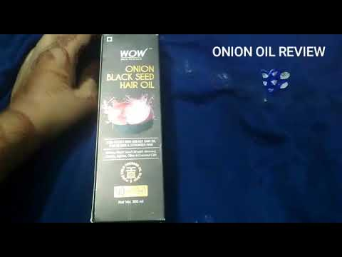 UNBOXING : Wow Onion Black Seed Hair Oil Review|Onion oil benefits, Hair Growth, How to use | Amazon