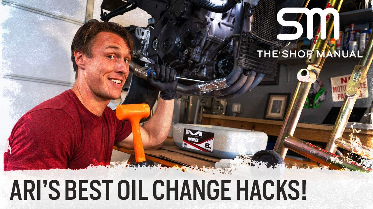 Overfilled Oil, Stuck Filters, And Oil-Change Hacks | The Shop Manual