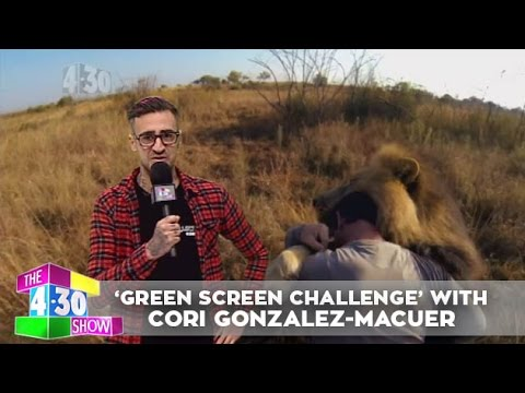 Green Screen Challenge with Cori GonzalezMacuer