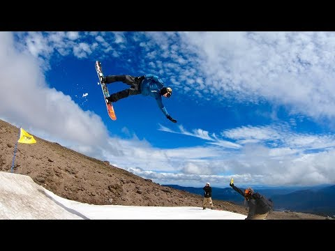 SUMMER SNOWBOARDING AT IT'S FINEST!!