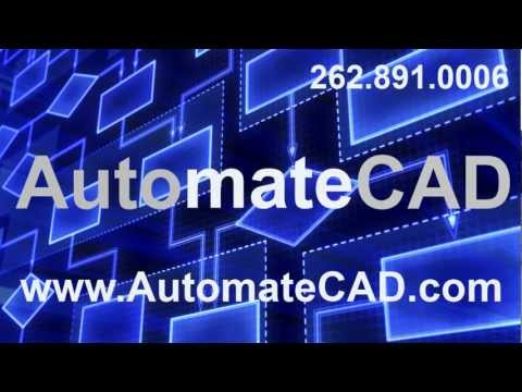 AutoCAD Custom Workflow Automation - Automate Workflow for CAD Engineering Software