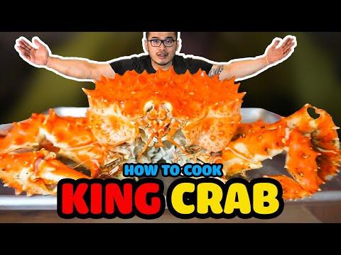 Best way to cook frozen king crab legs