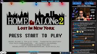 Один Дома 2  Home Alone 2 Lost in New York прохождение  Игра на (SNES, 16 bit) 1992 Стрим RUS