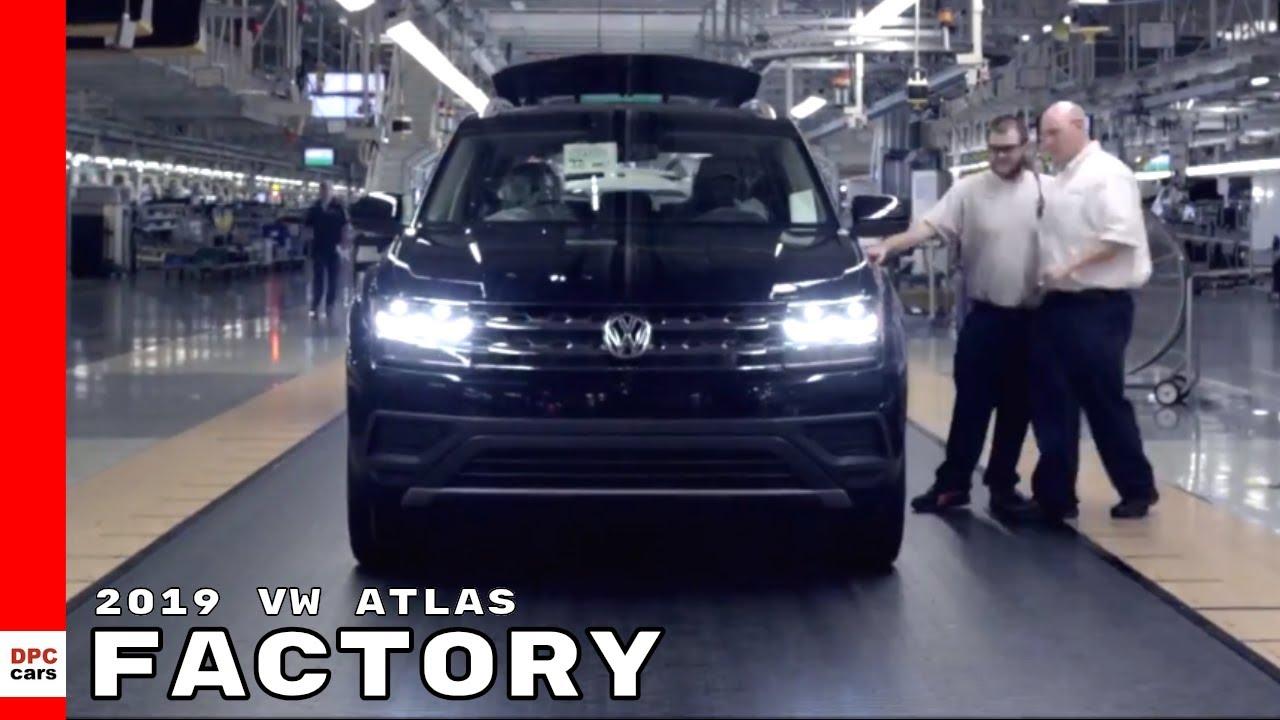 2019 VW Atlas Factory - Volkswagen