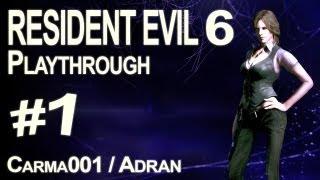 Resident Evil 6 - Partie 1 - Playthrough FR [HD]