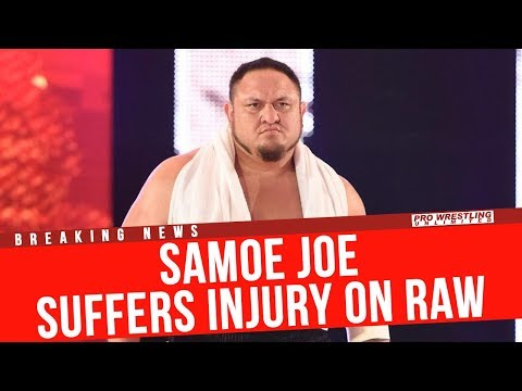 BREAKING NEWS: Samoa Joe Injured On RAW