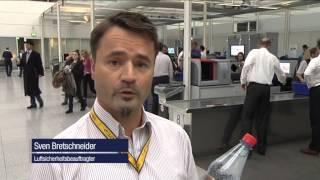 Beitrag Mehr Sicherheit am Flughafen München - neue Flüssigkeitsscanner vom 04. Februar 2014