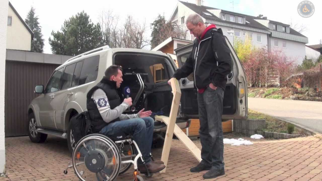 Gut bekannt Rollstuhl Rampe selber bauen - YouTube TE21