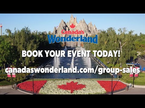 Have Your Company Bash At Canada's Wonderland!