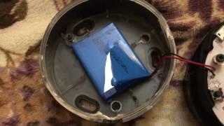 Taking apart a skull candy soundmine speaker