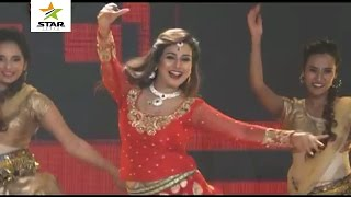 Pakhi Hegde Hot Dance in Dubai Bhojpuri Programs Dec2016