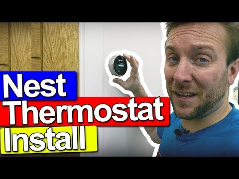 NEST ROOM THERMOSTAT INSTALL - INCLUDING UNDERFLOOR HEATING #ad