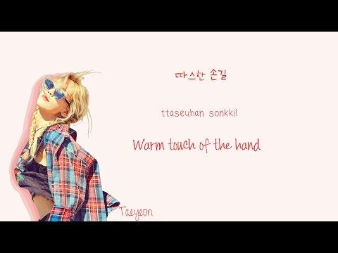 TAEYEON - Hands On Me Lyrics (Han|Rom|Eng Color Coded) | Soshi Lyrics