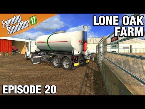 Farming Simulator 17 Timelapse - Lone Oak Farm Episode 20 CARTING SLURRY