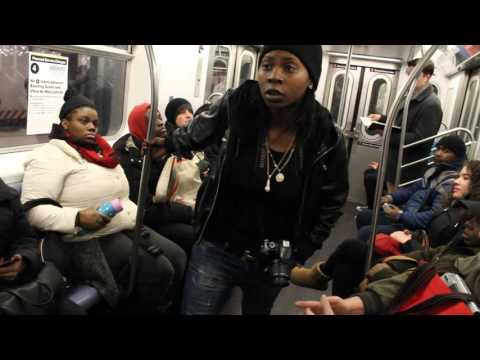 "NYC's ""Free Expression"" Subway Series Episode 1"