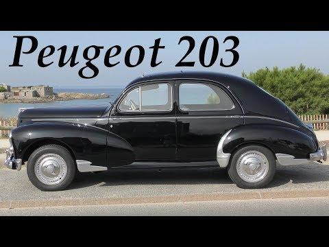 Peugeot 203 classic car 1948 - 1960 Oldtimer