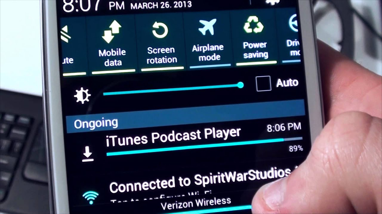 Phone Download Itunes Android Phone how to download and subscribe itunes podcasts on your android device