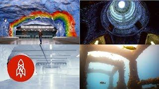 Exploring Worlds Deep Beneath the Earth
