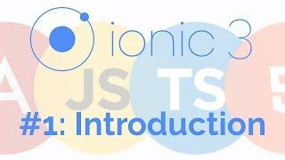 Ionic 3 Tutorials
