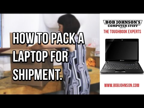 How to Pack a laptop for Shipment
