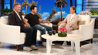 "mark wahlberg and will ferrells teenage kids are ""in communication"""