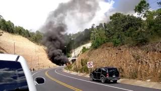 accidente carretera autopista mazatln durango al inicio de tnel
