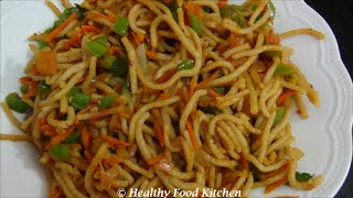 Vegetable Wheat Idiyappam-Vegetable Wheat Noodles-Wheat Nool Puttu By Healthy Food Kitchen