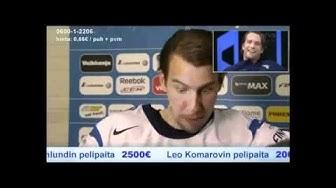Aku Hirviniemi esittää Tuomo Ruutua | IIHF 2011