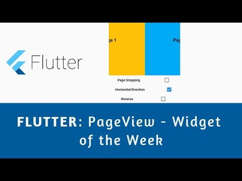 Flutter: Page View - Techie Blossom